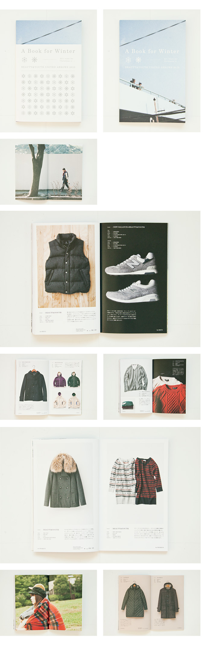 A Book for Winter BEAUTY&YOUTH UNITED ARROWS 2010