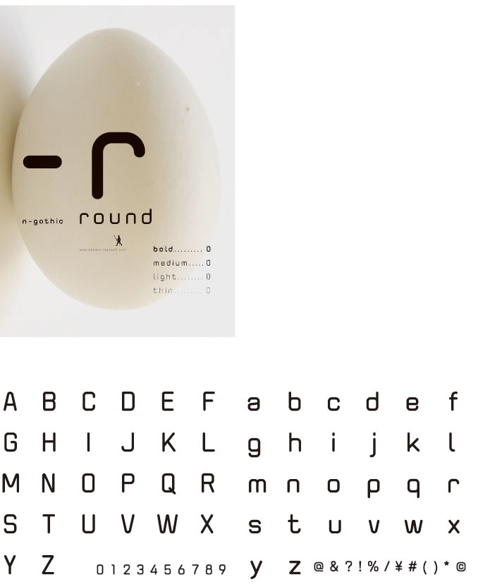 N-gothic-round