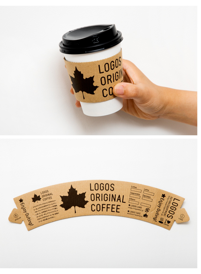 LOGOS CAFE COFFEE SLEEVE