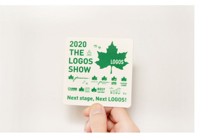 LOGOS 2019展示会 コースター